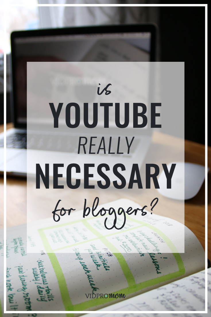 Is YouTube necessary in 2018? If you're a blogger, should you start a YouTube channel for your blog, or is it too late? Spoiler Alert: No, it's not too late to start a YouTube channel! Let me give you 7 solid reasons why bloggers should start a YouTube channel and create a YouTube content plan along with blog content.