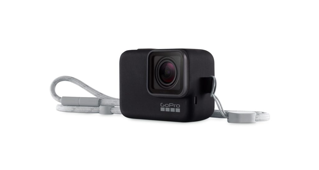GoPro's new accessory: Sleeve + Lanyard. What a great GoPro accessory!!