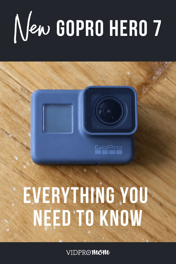 Pin this for later!! Everything you need to know about the new GoPro Hero 7 Black, Hero7 White, and Hero7 Silver.