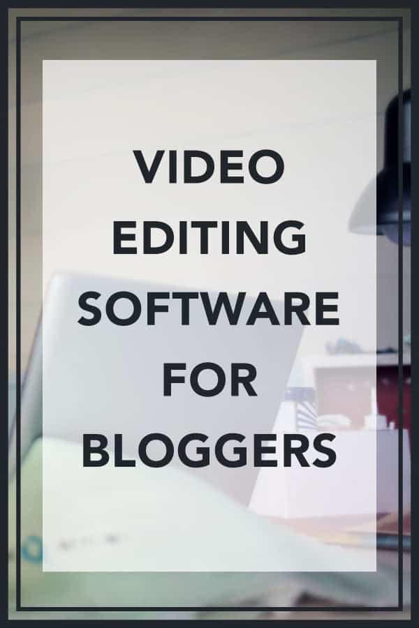 Video Editing Software Bloggers