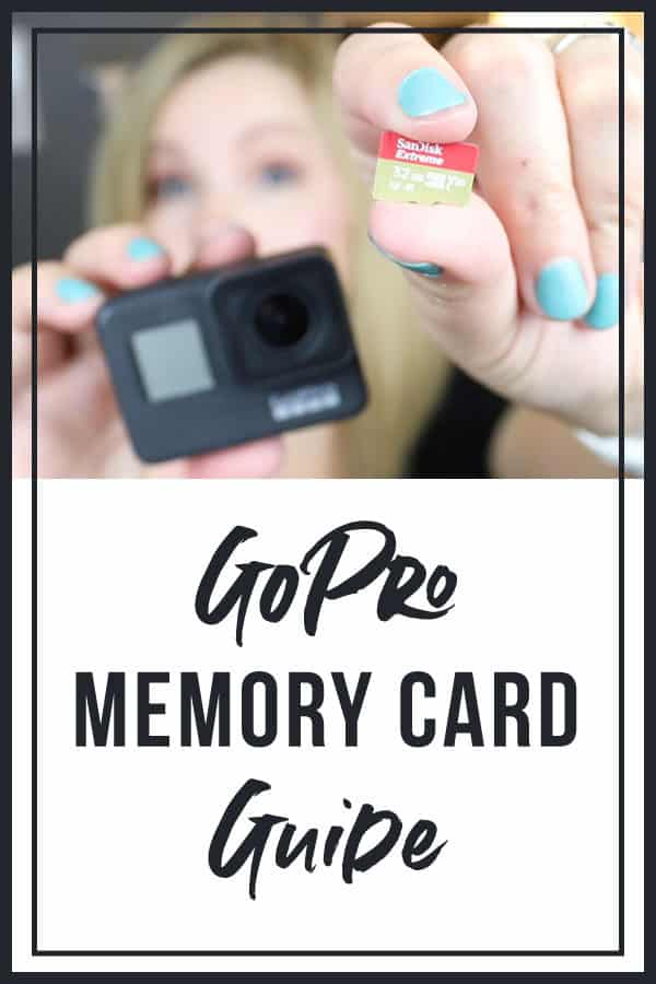 Memory Card For GoPro Hero7 Black