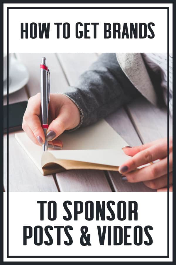 Pitching Brands For Sponsored Brand Deals