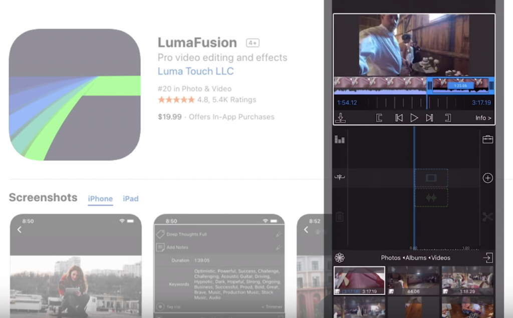 Lumafusion App For Iphone Video Editing