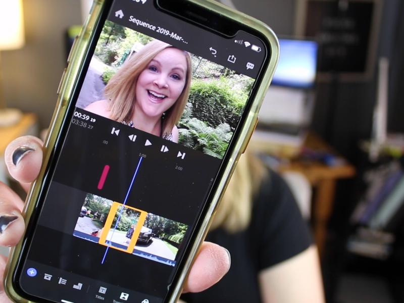 Adobe Premiere Rush - iPhone