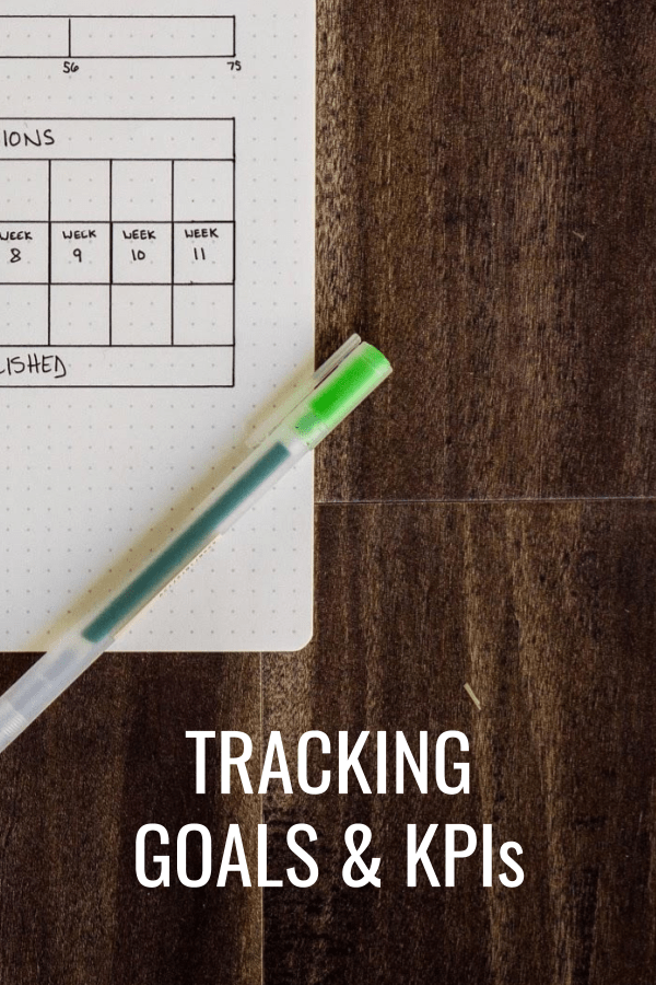 Goal Setting Tips And Tracking Kpis Podcast 35