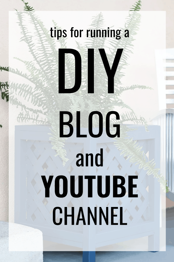 Pin Running A Diy Blog And Youtube Channel With Anika Gandhi