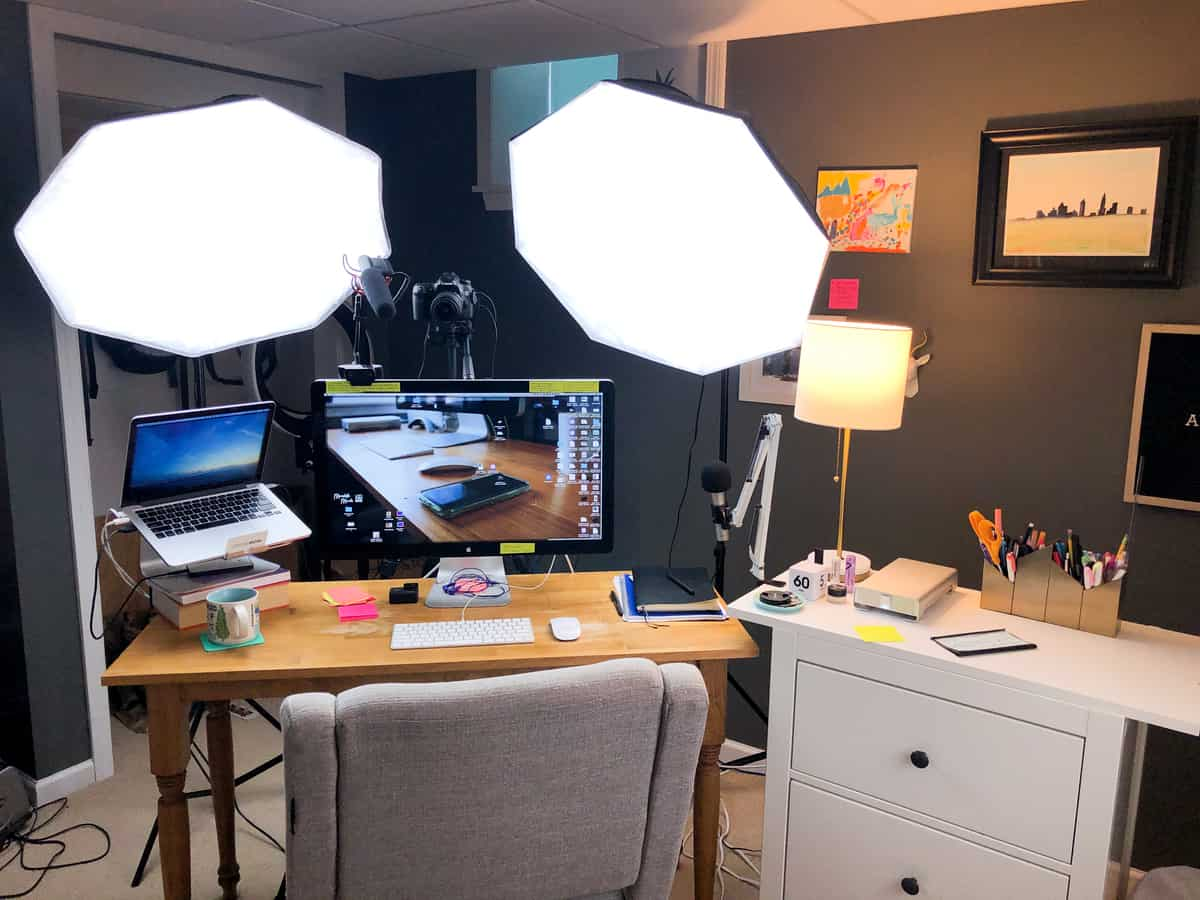 YouTube Studio Setup