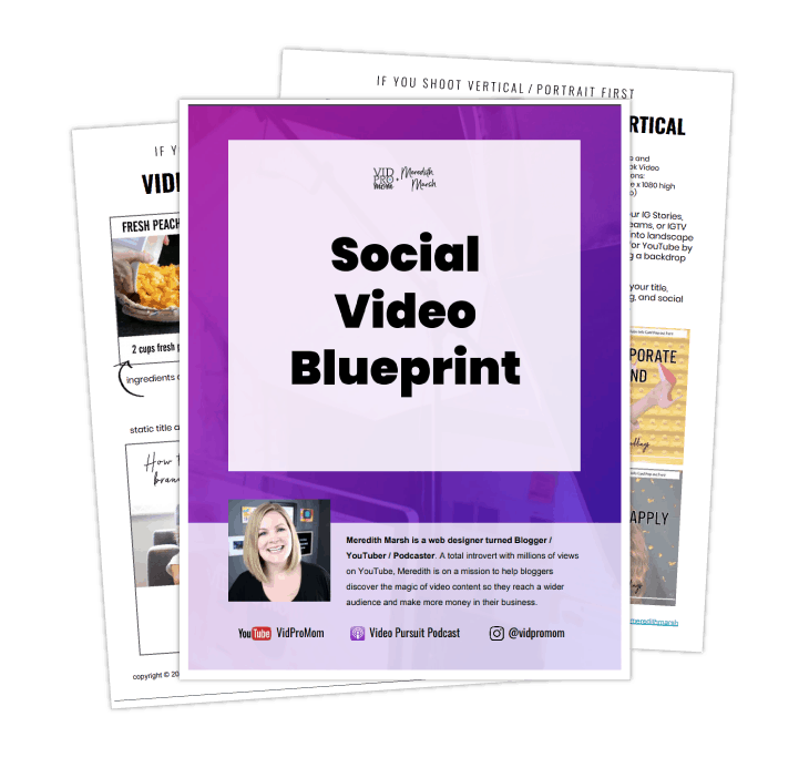 Social Video Blueprint