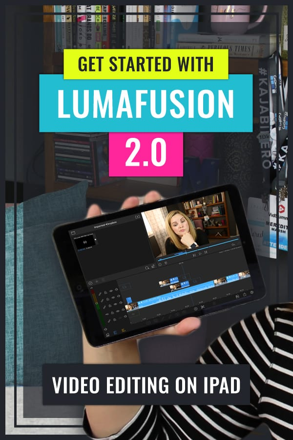 Learn how to Edit Videos on your iPad with this LumaFusion Tutorial. This is a quick and easy LumaFusion Tutorial for Beginners covering how to import, trim, add titles, transitions, and export a video in LumaFusion 2.0.