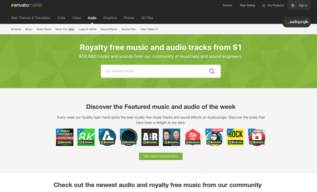Background Music For Social Media Audiojungle