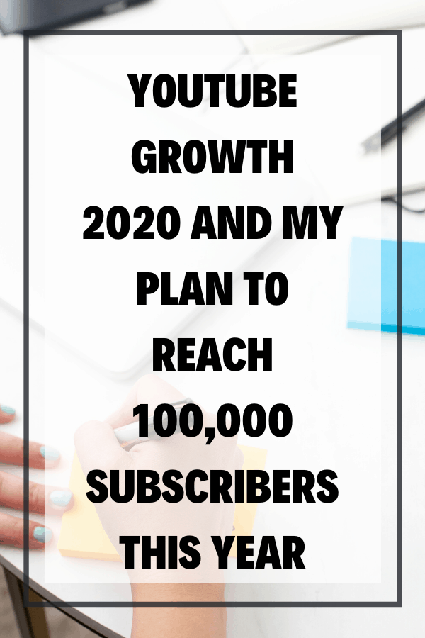 YouTube Growth 2020 and my Plan to Reach 100,000 Subscribers This Year