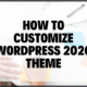 Customize WordPress 2020 Theme