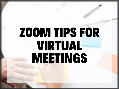 Zoom Tips