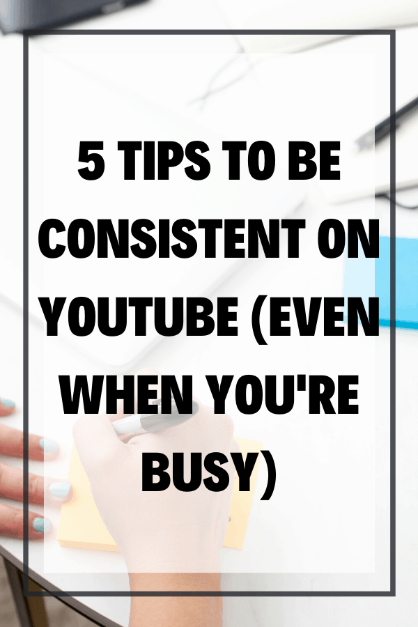 It's no secret that many content creators struggle with how to be consistent on YouTube. So if you find it challenging to juggle a job, family, and life along with a YouTube channel, you're not alone. In this blog, I'm going to share my 5 best tips for how to stay consistent with your content on YouTube so that you can continue to work your way to more opportunities, experiences, and freedom in your life, even if you're super busy.