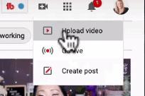Uploading video to YouTube