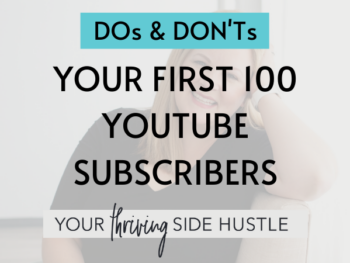 2 Your First 100 Youtube Subscribers