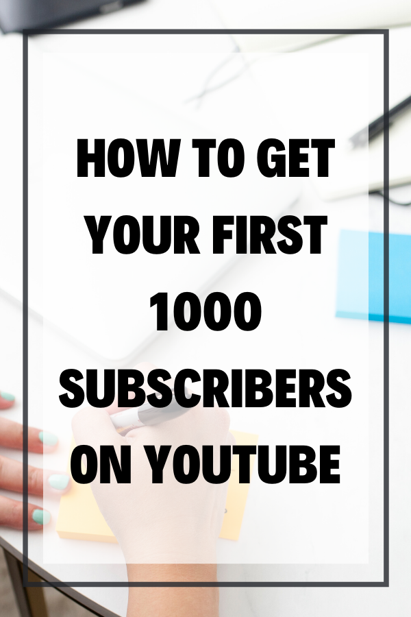 "There are thousands of videos on how to get your first 1000 subscribers on YouTube, so why is this one any different? Because there's something those ""first 1000 YouTube subscribers"" videos aren't telling you."