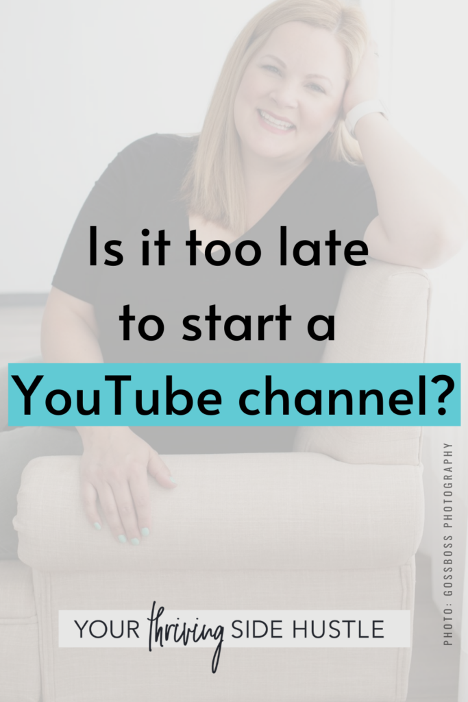 Ever wonder if YouTube is saturated with content and perhaps it's too late to start a YouTube channel in your niche? This is a very common question but should it stop you from moving forward?