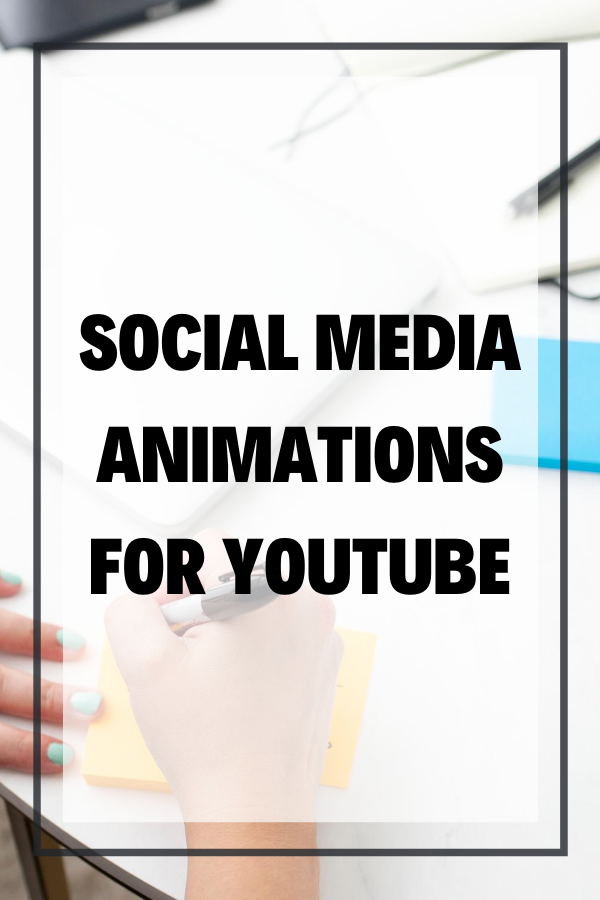 Wondering how to create a social media animation for YouTube videos? We see them all the time but sometimes it's hard to know how to get an Instagram animation, or Facebook, Twitter, or your name and website. In this blog, I will show you how I do this with downloadable templates, and After Effects or Fiverr.
