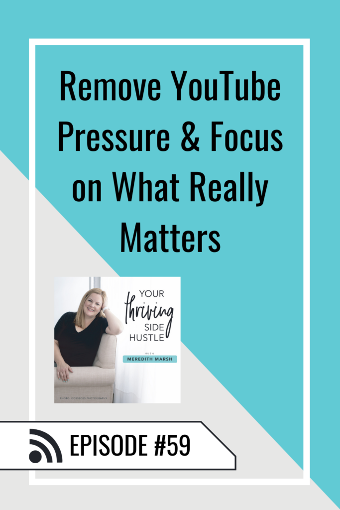 Have you noticed some of these things about YouTube recently? Here's what I'm doing to eliminate YouTube pressure and focus on what really matters in my business.