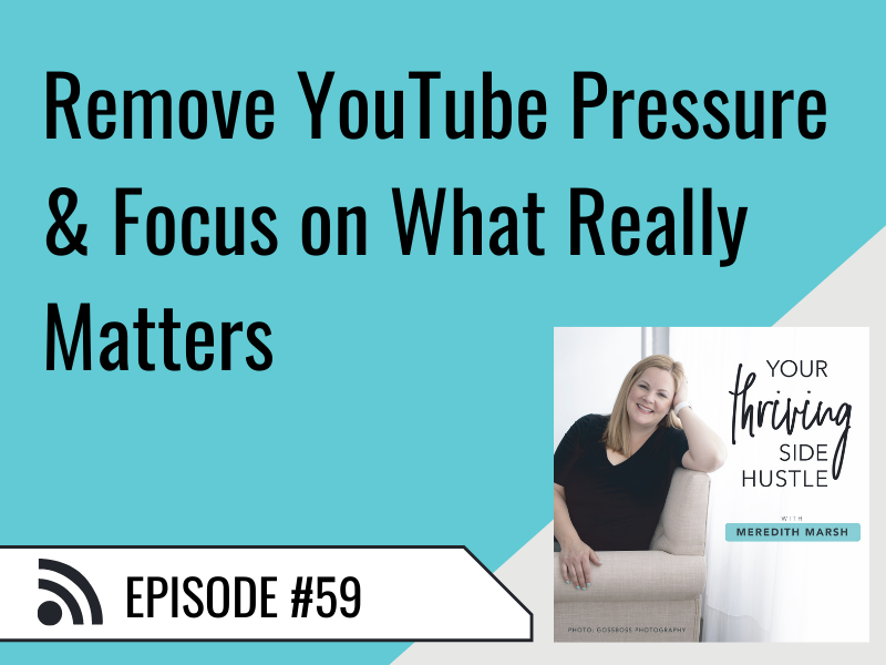 Remove Youtube Pressure & Focus On What Really Matters Featured