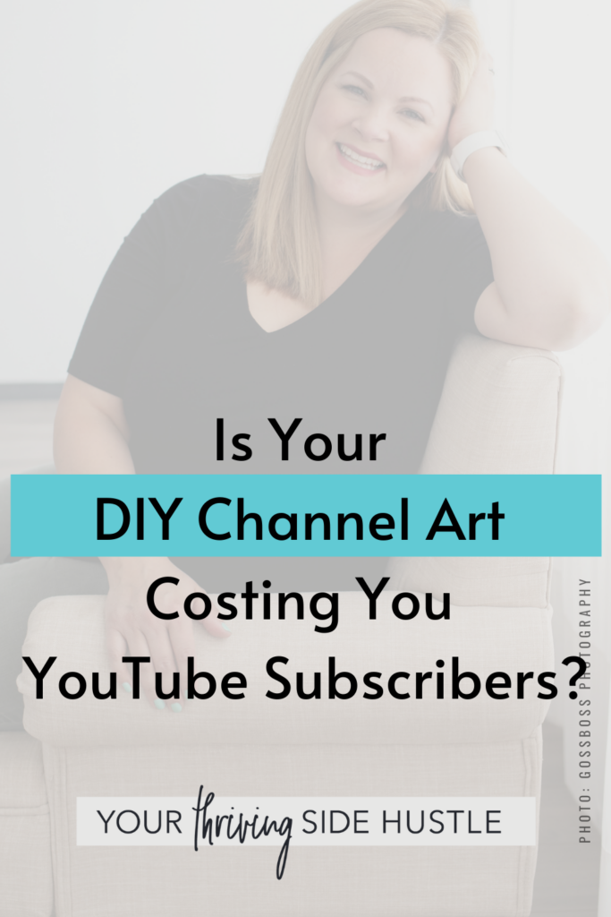 Is your DIY channel art costing you YouTube subscribers? Here are some tips for looking legit on YouTube by upgrading your channel banner!