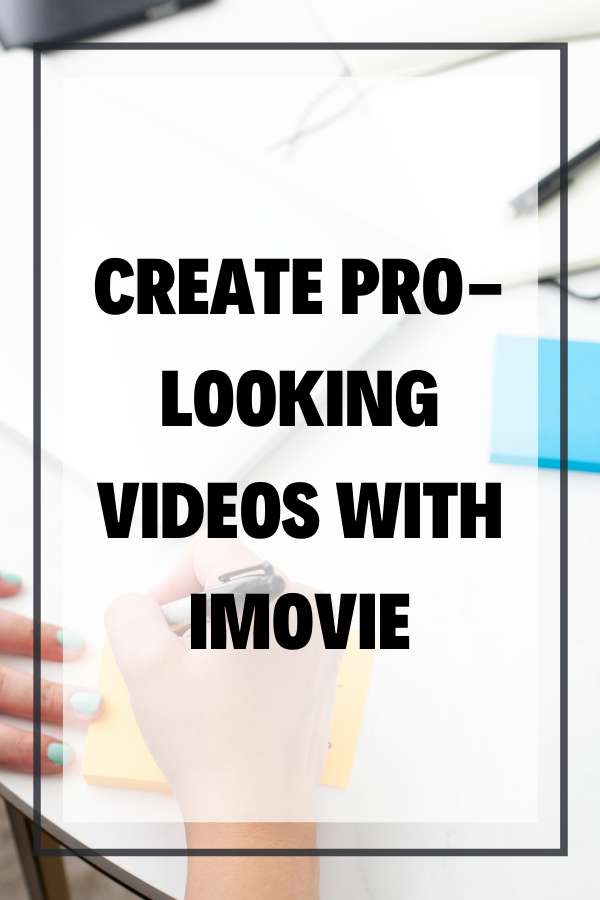 "Wondering how to edit on iMovie like a Pro? Yes, it is possible to create ""pro looking"" YouTube videos with iMovie (you don't NEED Final Cut Pro or Premiere Pro for video editing) but to be honest, it's more about some editing details that you can implement no matter what video editing software you're using."