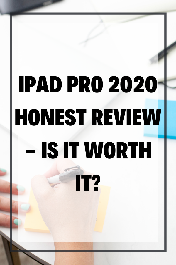 Looking for an iPad Pro 2020 Honest Review? Curious if the iPad Pro 2020 is worth it? In this blog, I'm sharing the pros and cons of the iPad Pro 2020 including the new Apple Pencil 2nd Generation (for iPad Pro) and the Magic Keyboard.