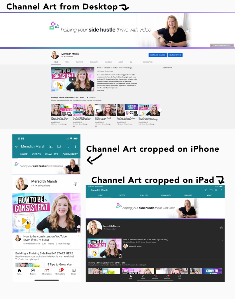 Channel Art Cropped Youtube