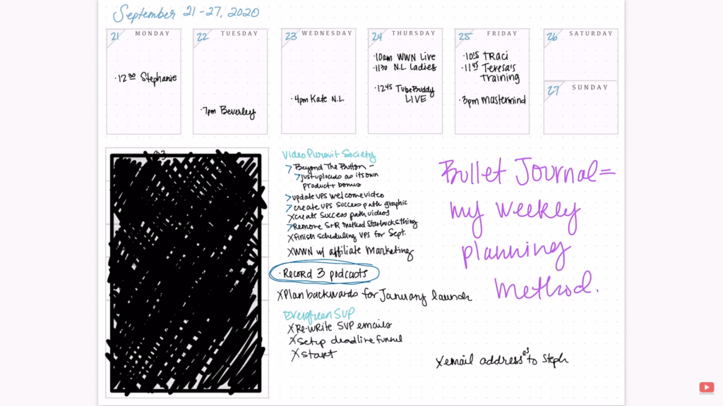 Using GoodNotes for my bullet journal