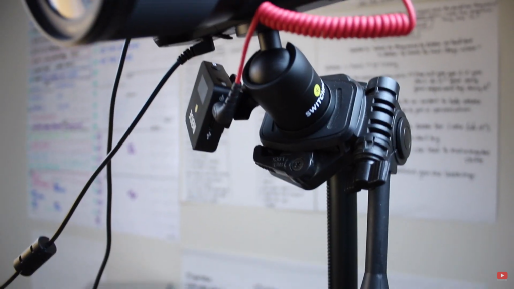 magnetizing my microphone's receiver to my tripod