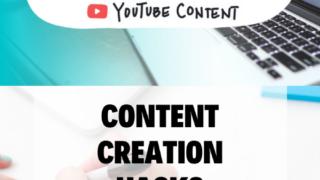 Content Creation hacks - Batch Youtube Content