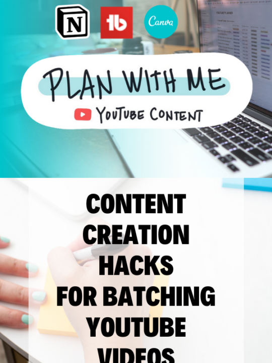 Content Creation hacks - Batch Youtube Content