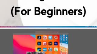 ScreenFlow Editing Tutorial (For Begiiner) header with a screenshot of ScreenFlow 9.