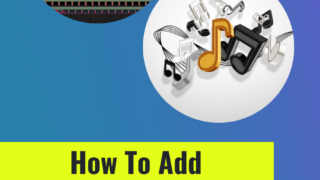 How To Add Background Music In ScreenFlow